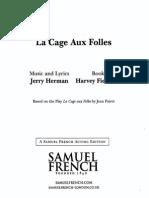 La Cage Aux Folles - Script