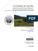 Rio Park-larson Field Pathway Project Draft Initial Study-mitigated Negative Declaration