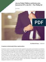 A Sombra Do Nepotismo No Poder Público Conforme Uma Perspectiva Jurisprudencial Do STF e Do STJ – Por Phillip Gil França _ Empório Do Direito