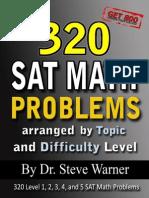 320 SAT Math Problems
