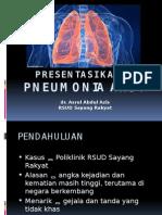 Presentasi Portofolio Pneumonia