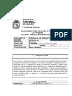 2. 2015 -1 Programa de Medicina Interna i