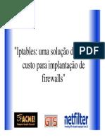 Gts 2003 Artur Jarbas Iptables
