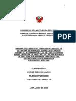 2- Congreso de La Republica - Inf. Final Sobre Choropampa