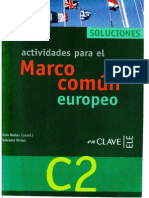 Actividades Para El Marco Común Europeo C2 Soluciones