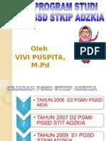 Ekspos Prodi Pgsd STKIP ADZKIA