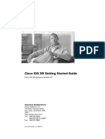 Cisco IOS XR Getting Started Guide