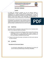 Estudio de Hidrología y Drenaje