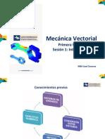 Mecanica Vectorial UNIDAD 1 - Sesion 1.pdf