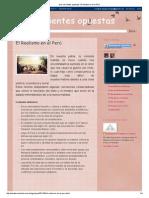 Dos Corrientes Opuestas_ El Realismo en El Perú
