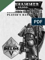 Warhammer 40K CCG - Rulebook - Delos V