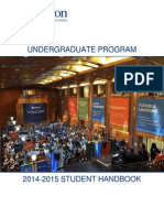 Wharton Placement Handbook 2014