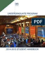 Wharton Placement Handbook 2014