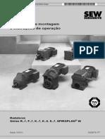 Serie Rf Engrenagens Helicoidais