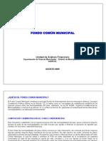 Fondo Comun Municipal