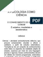 A Psicologia Como Ciência.ppt Prova Av1