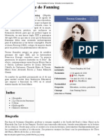 Teresa González de Fanning - Wikipedia, La Enciclopedia Libre