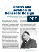 Boldness and Innovation in Concrete Design