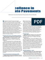 Excellence in Concrete Pavements