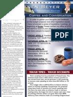 Beyer Spring 2010 Budget Newsletter
