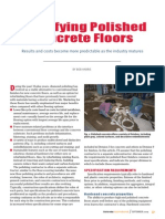Specifying Polished Concrete Floors