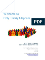 Holy Trinity Clapham Welcome Pack-1