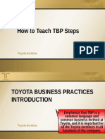 The Steps of Toyota Business Practices