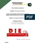 Fuentes de Financiamiento 1er Parcial
