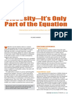 Viscosity - It's Only Part of the Equation