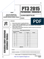 PT3 Trial 2015 KH Qa Kedah