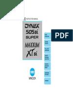 Dynax-Maxxum XTsi En