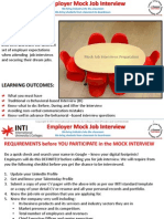 ws3 employer mock job interview