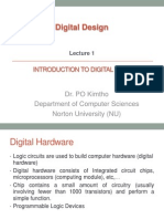 Ch01 Introduction to Digital Systems