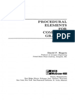 Procedural Elements of Computer Graphics PDF by C. Rogers