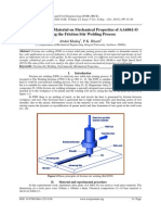Influence of Tool Material on Mechanical Properties of AA6061-O during the Friction Stir Welding Process