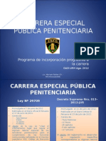 CARRERA ESPECIAL PUBLICA PENITENCIARIA. JOSE RAMOS.ppt