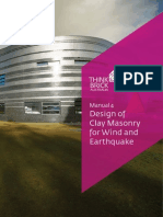 Cladding Dsign for Earthquake and Wind