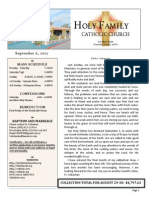 church bulletin for 9-6-2015