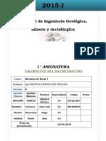 1 Informe Mecanica de Rocas
