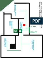 Plan Evakuacije Hodnik