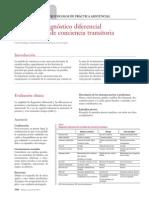 Protocolo Diagnóstico Diferencialde Al Pérdida Trnasitoria de Al Concienca