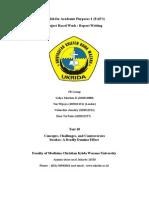 F8 Engish Report Task