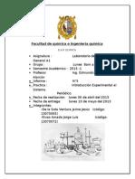5 ° infome de quimica general A II