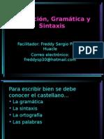 Redaccion Gramatica y Sintaxis