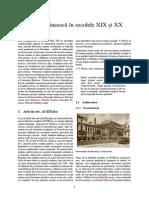 Arta Românească În Secolele XIX Și XX