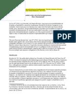 Analisis Critico de La Ley Forestal Peruana