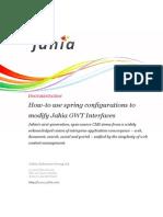 Jahia Howto Use Spring to Change UI