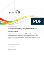 Jahia Howto Use Spring to Extend Software