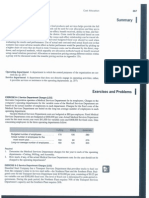 Cost Allocation_Exercises and Problems
