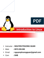 Topic 1 - Intro to Linux
